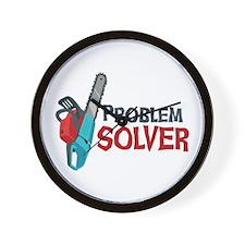 Problem Solver Wall Clock