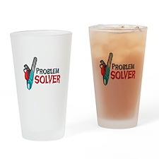 Problem Solver Drinking Glass