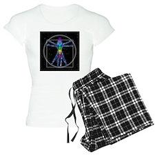 Vitruvian Spirit Woman Pajamas