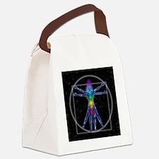 Vitruvian Spirit Woman Canvas Lunch Bag