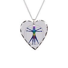 Vitruvian Spirit Woman Necklace