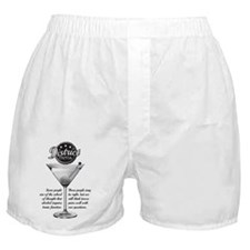What pairs well with trivia? Boxer Shorts