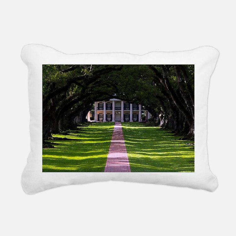 New Orleans French Quart Rectangular Canvas Pillow