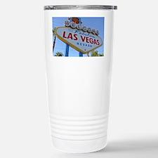 Las Vegas Stainless Steel Travel Mug