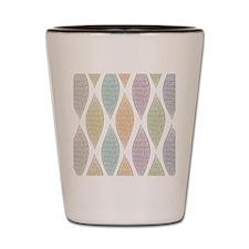 Pastel Abstract Pattern Shot Glass