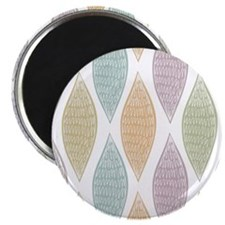 Pastel Abstract Pattern Magnet