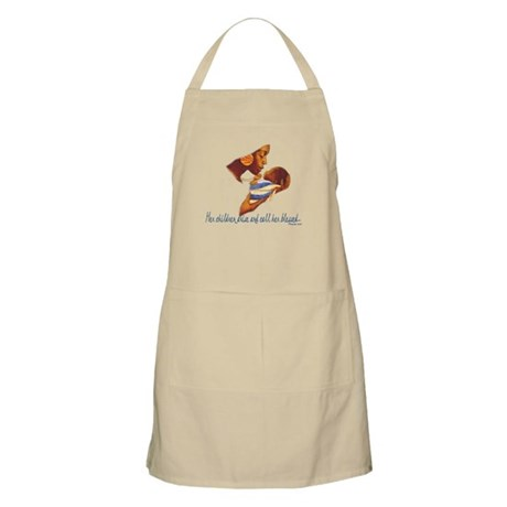 Blessed Mother BBQ Apron