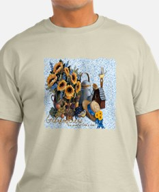 Grandmother's Sunflowers T-Shirt