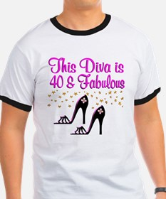 40TH HIGH HEEL T