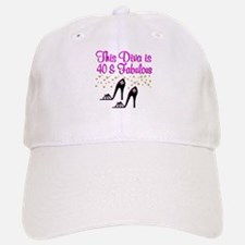 40TH HIGH HEEL Baseball Baseball Cap