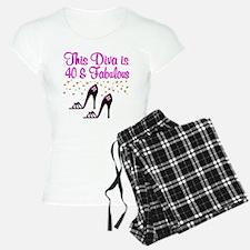 40TH HIGH HEEL Pajamas