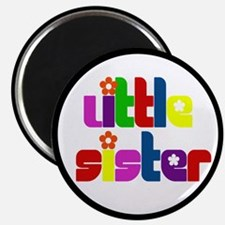 Little Sister (Gift for the New Baby) Magnet