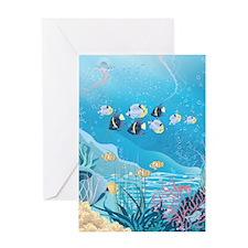 Tropical Reef Greeting Card