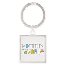 Mommy's Favorite Square Keychain
