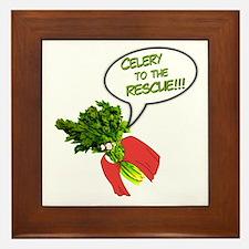 Celery to the Rescue! Framed Tile