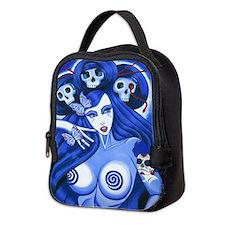 Sugar Skull Priestess Neoprene Lunch Bag
