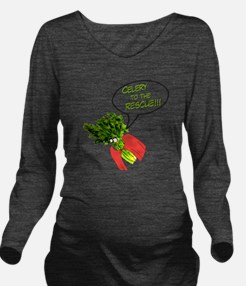 Celery to the Rescue Long Sleeve Maternity T-Shirt