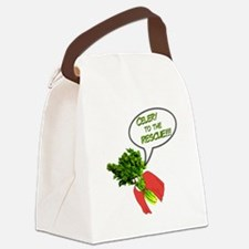 Celery to the Rescue! Canvas Lunch Bag