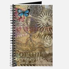 Rome Vintage Italy Travel Collage Journal