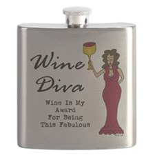 The Wine Diva - Wine Is My Award For Being F Flask