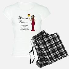 The Wine Diva - Wine Is My  Pajamas