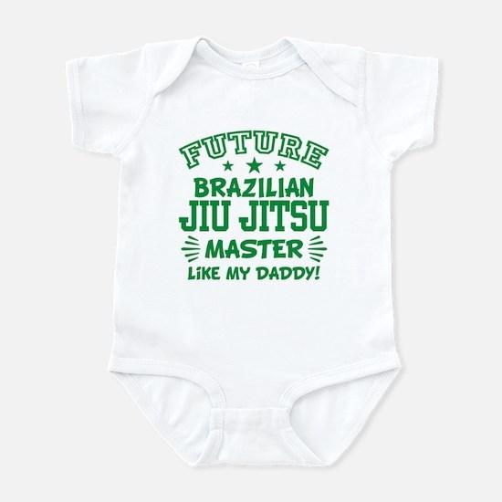 Future Brazilian Jiu Jitsu Mas Baby Light Bodysuit