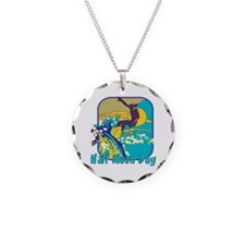Surfing Half Moon Bay Necklace