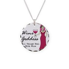 Wine Goddess - All Things He Necklace