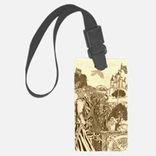 Woodland Warrior Luggage Tag