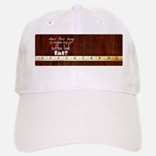 Fat Coffee Baseball Baseball Cap
