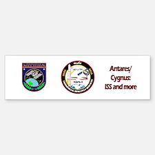 Antares/Cygnus Bumper Bumper Sticker