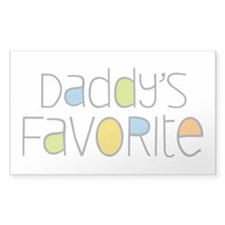 Daddy's Favorite Decal