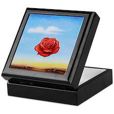 Meditative Rose Keepsake Box
