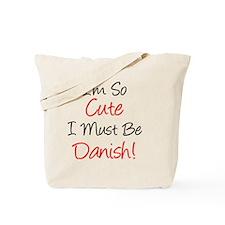 So Cute Must Be Danish Tote Bag