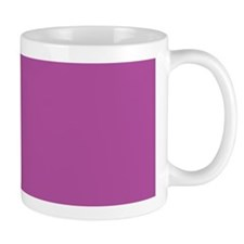 Orchid Solid Color Mug