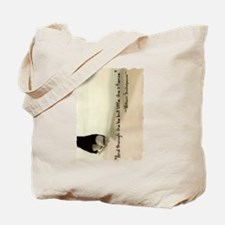 And though she be but little, she is fier Tote Bag
