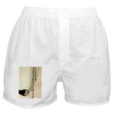 And though she be but little, she is  Boxer Shorts