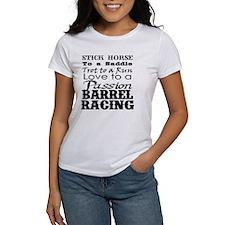 Barrel Racing Passion Tee