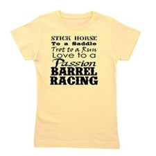 Barrel Racing Passion Girl's Tee