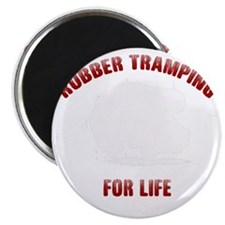 Rubber Tramp For Life Magnet
