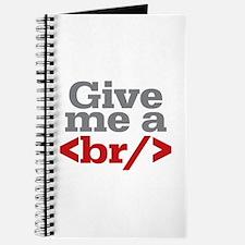 Give Me A Break HTML Journal