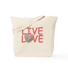 Live Love for Kayla Tote Bag