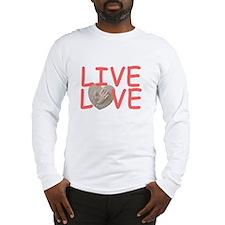 Live Love for Kayla Long Sleeve T-Shirt
