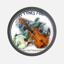 Cross Tunes Forever 2 Wall Clock