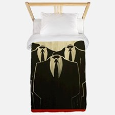 Anonymous 99% Occupy t-shirt Twin Duvet