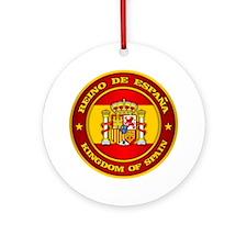 Spain Medallion Round Ornament
