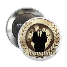 """Anonymous 99% Occupy t-shirt 2.25"""" Button"""