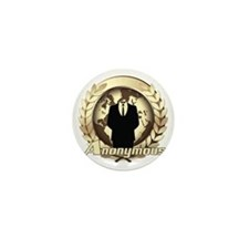 Anonymous 99% Occupy t-shirt Mini Button