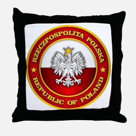 Polish Medallion Throw Pillow