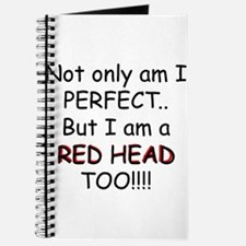 I am a red head too!!! Journal
